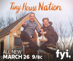 Lamps Plus is partnering in 2016 with the hit FYI television series celebrating the exploding trend of extreme downsizing across the country