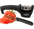 The SharpChef Knife Sharpener is Now Available in Black
