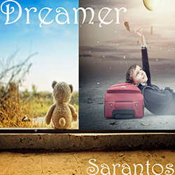 Sarantos song artwork Dreamer solo music artist Voice of Chicago new pop rock free release St. Judes