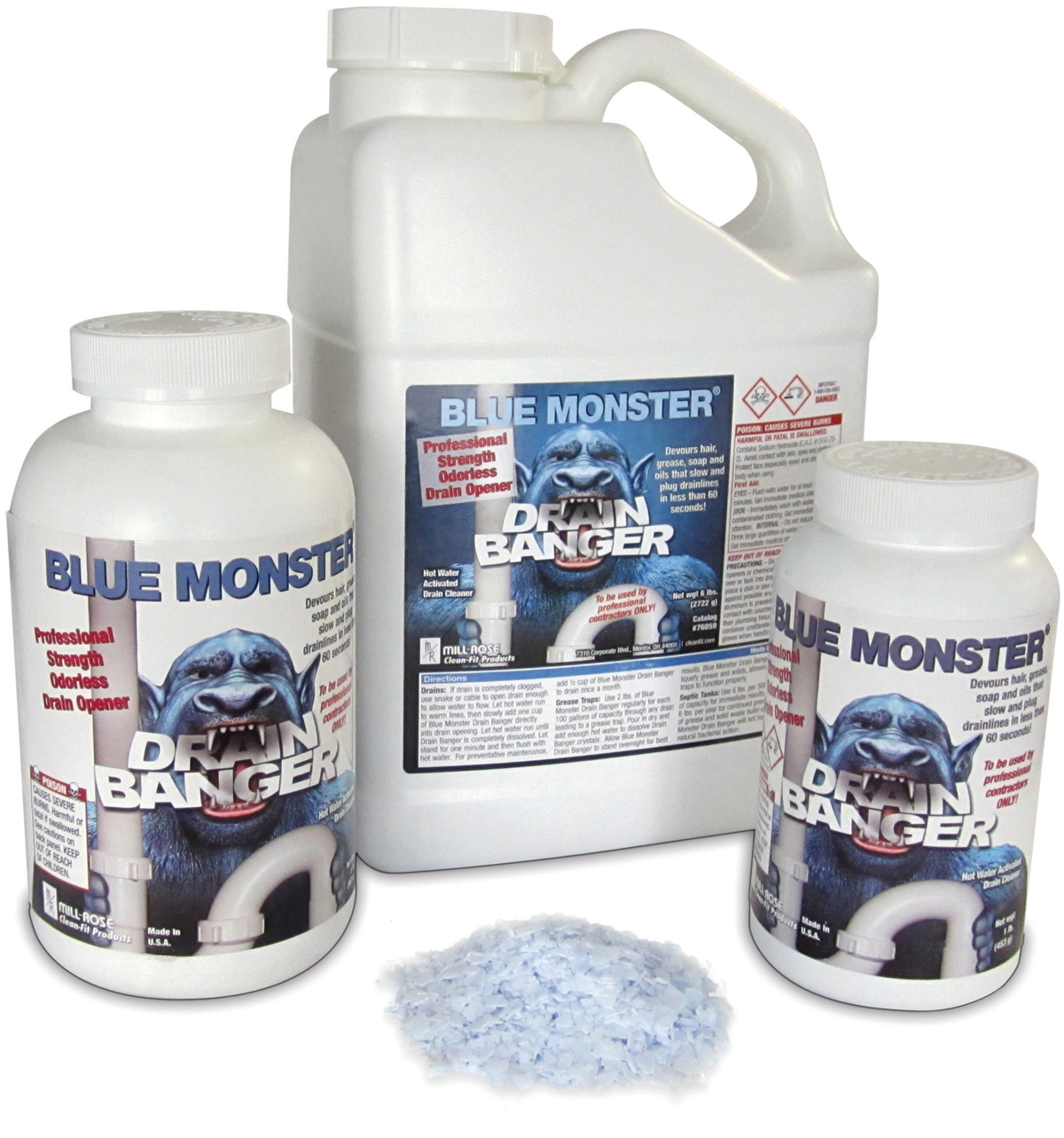 Blue Monster 174 Drain Banger Now Available In 3 Convenient