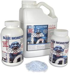 Blue Monster Drain Banger