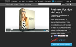 ProIntro Fashion Volume 2 - Pixel Film Studios - FCPX Effects and Plugins
