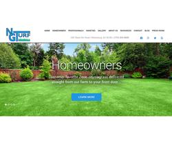 NG Turf's new website