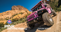 New Jeep tour from Pink Adventure Tours