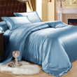 Blue Mulberry Silk Sheets Are Now Added to ElleSilk Collection