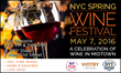 New York Wine Events Presents a Trio of Spring Wine Fests in New Jersey, Brooklyn, and Midtown Manhattan