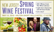 New Jersey Spring Wine Festival tickets are on sale now at NewYorkWineEvents.com.