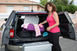 The Stow-Away is an automobile invention specially designed to keep your belongings organized inside a vehicle