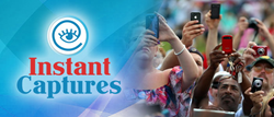 Instant Captures is an app invention created to capture and share events online.