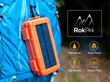 Introducing the RokPak Pioneer Series: World's First All-In-One Solar, Battery Charger and Dry Box to Keep Devices Charged, Items Secure, and Its Users Safe