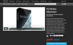 FCPX3D Abstract - Pixel Film Studios - Final Cut Pro X