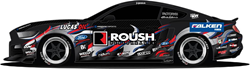Teaming with main sponsor ROUSH Performance, Justin Pawlak will drive a 2016 ROUSH Supercharged Mustang with a Ford Performance Aluminator crate engine.