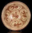 12th C. Iranian Kashan Lustre Bowl