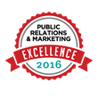 PR and Marketing Excellence Award logo