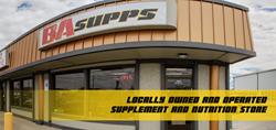 BA Supps is locally owned and operated.