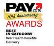 TASC Card Named Best in the Health Benefits Delivery Category