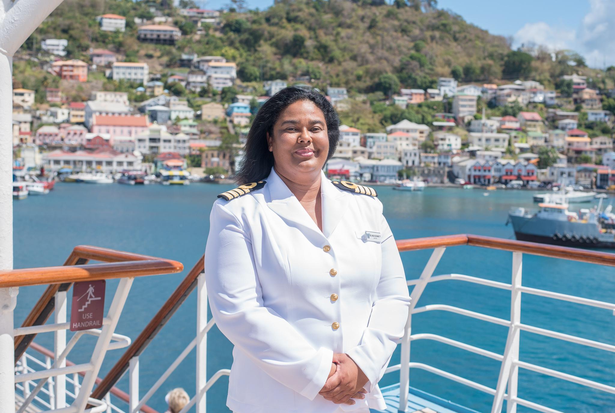 Windstar Cruises Names First Female Captain Belinda Bennett Sea Captain