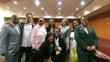 "Rep. Winfred Dukes, Maynard Jackson III, Rep. Able"" Mable Thomas, Terri Vaughn, Rep. Kim Alexander, Wendy Eley Jackson, and Rep. Doreen Carter; kneeling—Rep. Dee Dawkins-Haigler & Cas Sigars"