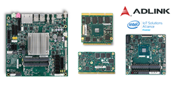 ADLINK SBCs & Computer-on-Modules featuring the latest Intel Atom processors