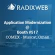 Radixweb Showcasing Legacy Application Modernization at COMEX OMAN 2016