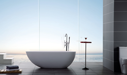 Luxury Solid Surface Modern Bathtub Ethos