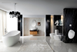 Saverio Acrylic Modern Bathtub