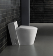 Monte Carlo Modern One Piece Dual Flush Bathroom Toilet