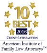 Weinberger Law Group Named Top 10 Best Family Law Firm for Client Satisfaction