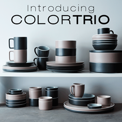 ColorTrio by Noritake