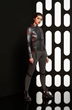 Sneak peek of the new Force Awakens collection coming soon to Hot Topic. Captain Phasma jacket & leggings designed by last year's fashion show winners Leetal Platt and Kelly Cercone. Image: Hot Topic.