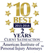 Florida Attorney Jason Turchin Selected To American Institute Of Personal Injury Attorneys 10 Best List For 2016