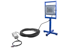Explosion Proof LED Light on Adjustable Base Stand
