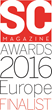 Cloudbric Selected as a Finalist for SC Magazine Awards 2016 Europe