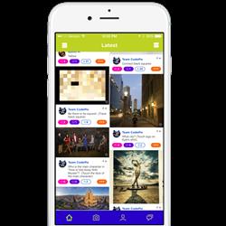 CodePix Explore Screen