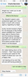 Whatsapping a Romance Scammer