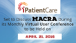 iPatientCare Set to Discuss MACRA During its Monthly Virtual User Conference (VUCON) to be Held on April 21, 2016
