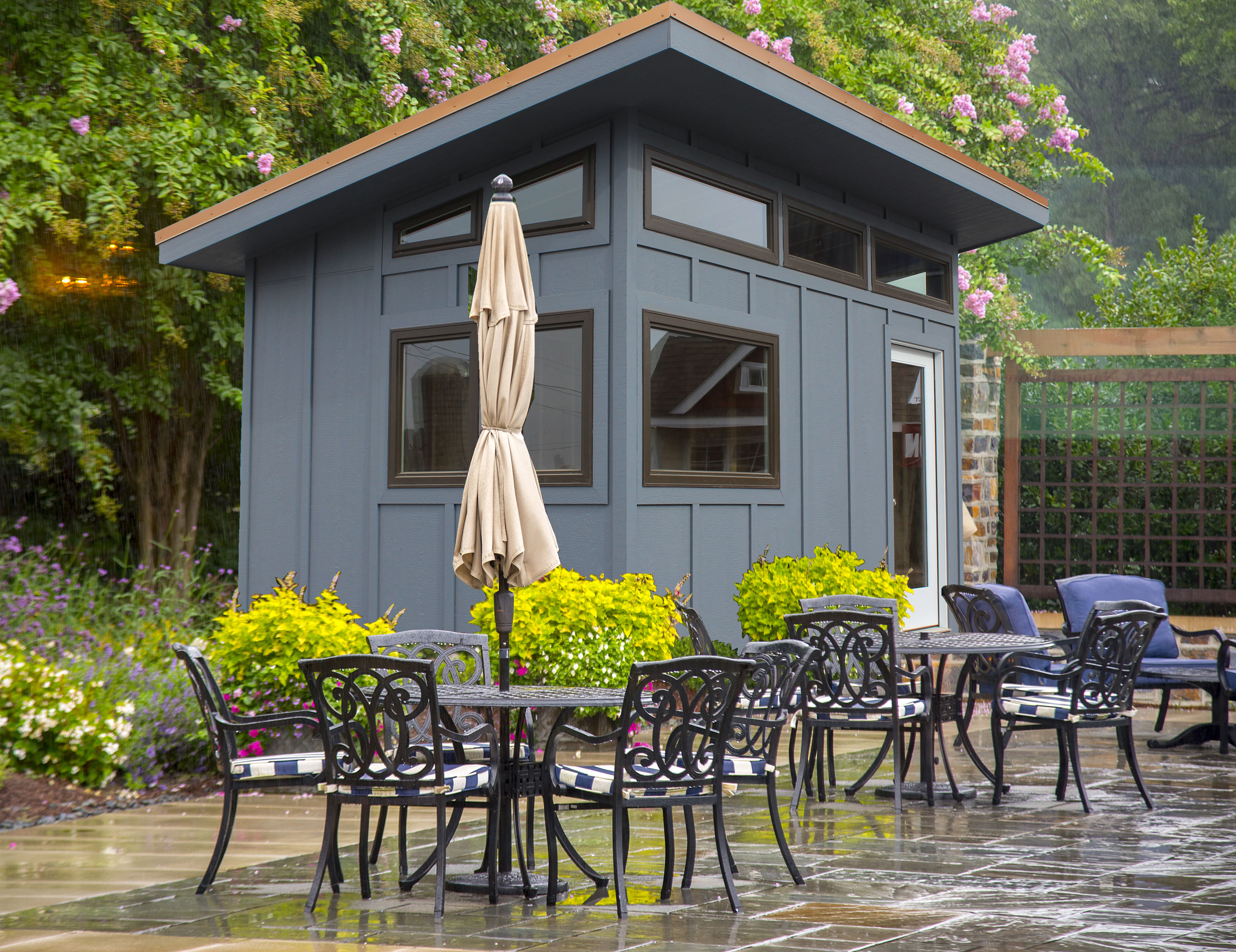 New modern storage sheds unveiled by sheds unlimited llc for Modern sheds for sale