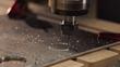 Axiom Precision CNC cutting aluminum