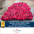 "Georgia United Credit Union Named ""Top Workplaces"" by The Atlanta Journal-Constitution"