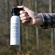 Practice Bear Spray from Frontiersman Helps Outdoor Enthusiasts Explore with Confidence