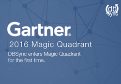 DBSync enters Gartner Magic Quadrant