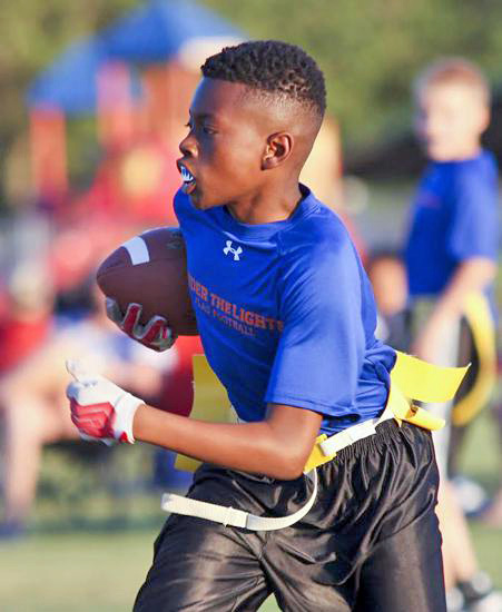 Under The Lights Youth Flag Football League To Open Sites
