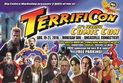 Fans Can Get Their Terrific Comic Con Tickets at Mohegan Sun