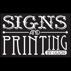 Signs And Printing By Olson