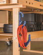 The Cord and Hose Hook from Rockler is also ideal for cord storage.