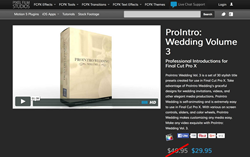 PFS Plugins - ProIntro Wedding Volume 3 - FCPX Effects
