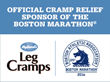 Hyland's Leg Cramps is Proud to be the Official Cramp Relief Partner of the Boston Marathon