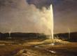 Bierstadt's Geysers in Yellowstone