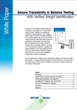 New White Paper Describes How Verified Weight Identification Leads to Secure Traceable Balance Testing