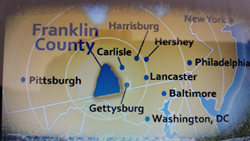 Franklin County PA is in the heart of the Cumberland Valley.